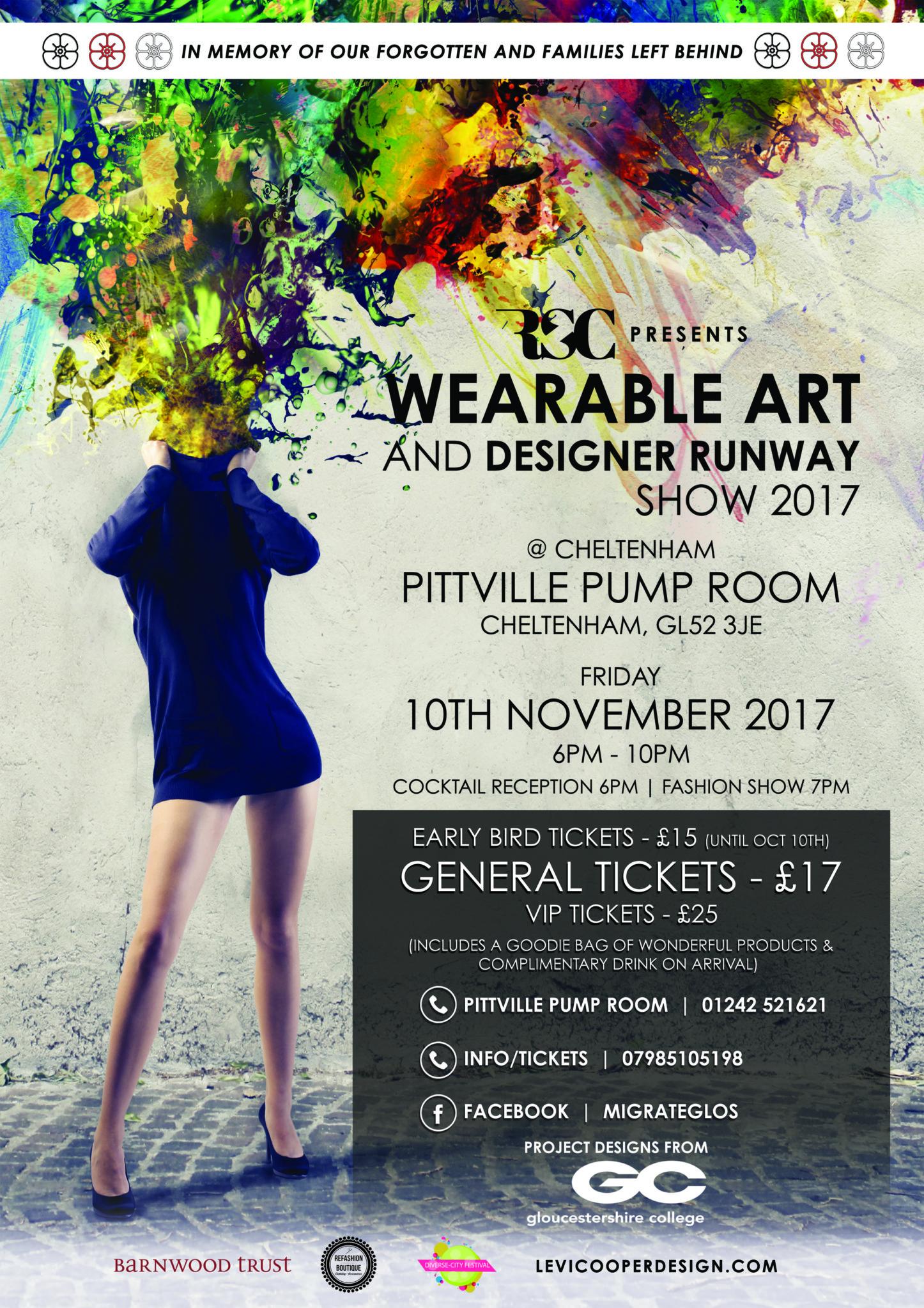 Wearable Art and runway show 2017 | Blacknet UK