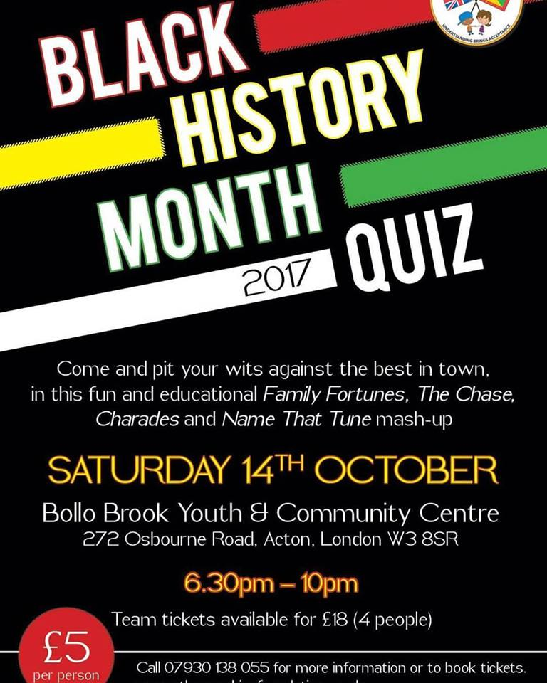 Black History Month Quiz | Blacknet UK