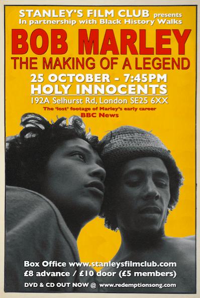 Bob Marley: The Making Of A Legend (12A) + Q&A   Blacknet UK