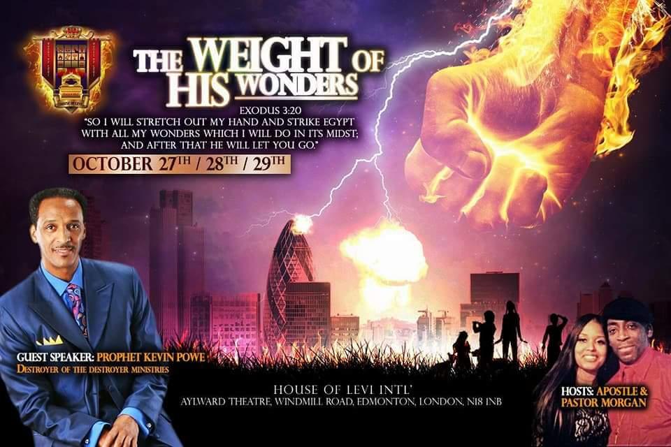 The weight of His wonders | Blacknet UK