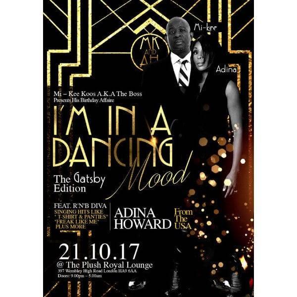 I'M IN A DANCING MOOD MI-KEE KOOS BIRTHDAY | Blacknet UK