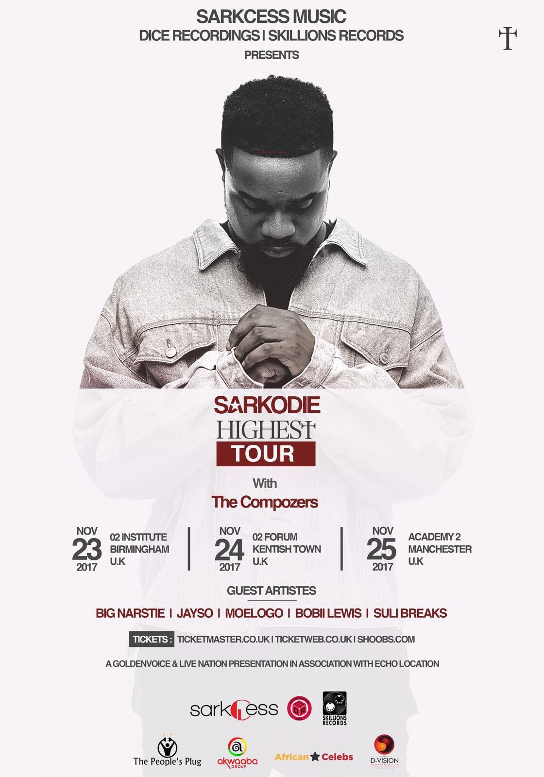 Sarkodie:The Highest Uk Tour | Blacknet UK