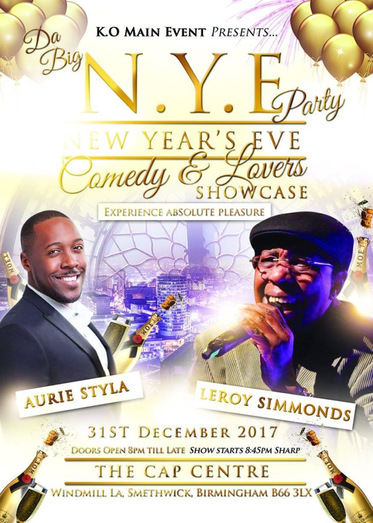 New Years Eve Comedy Dinner and Dance | Blacknet UK