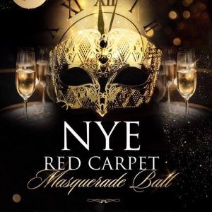 New Years Eve Red Carpet Masquerade Ball 2017 | Blacknet UK