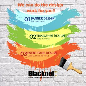We design for youyourbanner,emailshotandeventspage