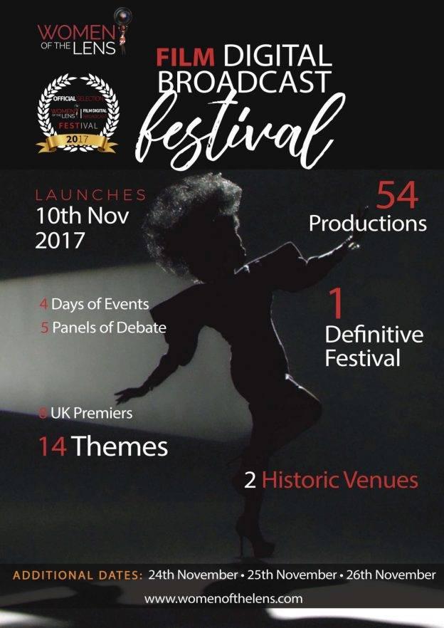 Women of the Lens Film Digital Broadcast Festival   Blacknet UK