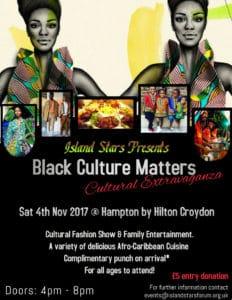 Black Culture Matters - A Cultural Extravaganza! | Blacknet UK