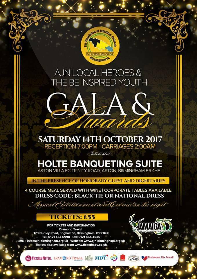 AJN Local Heroes & The Be Inspired Youth Gala & Awards   Blacknet UK