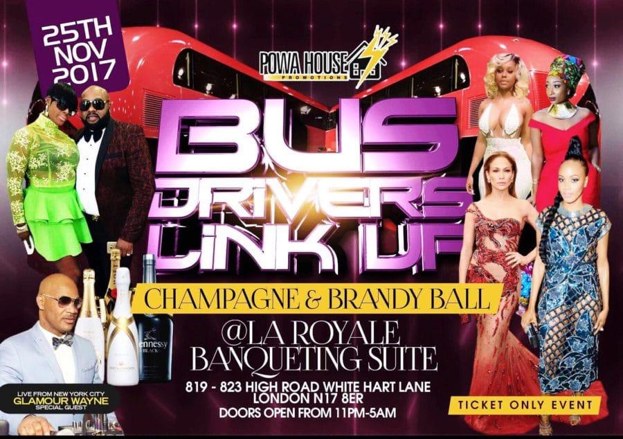 Bus Drivers Linkup. Champagne & Brandy Ball | Blacknet UK