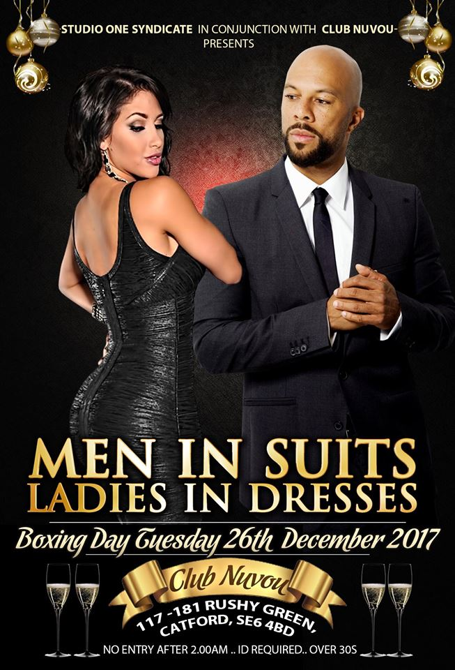 MEN IN SUITS LADIES IN DRESSES | Blacknet UK