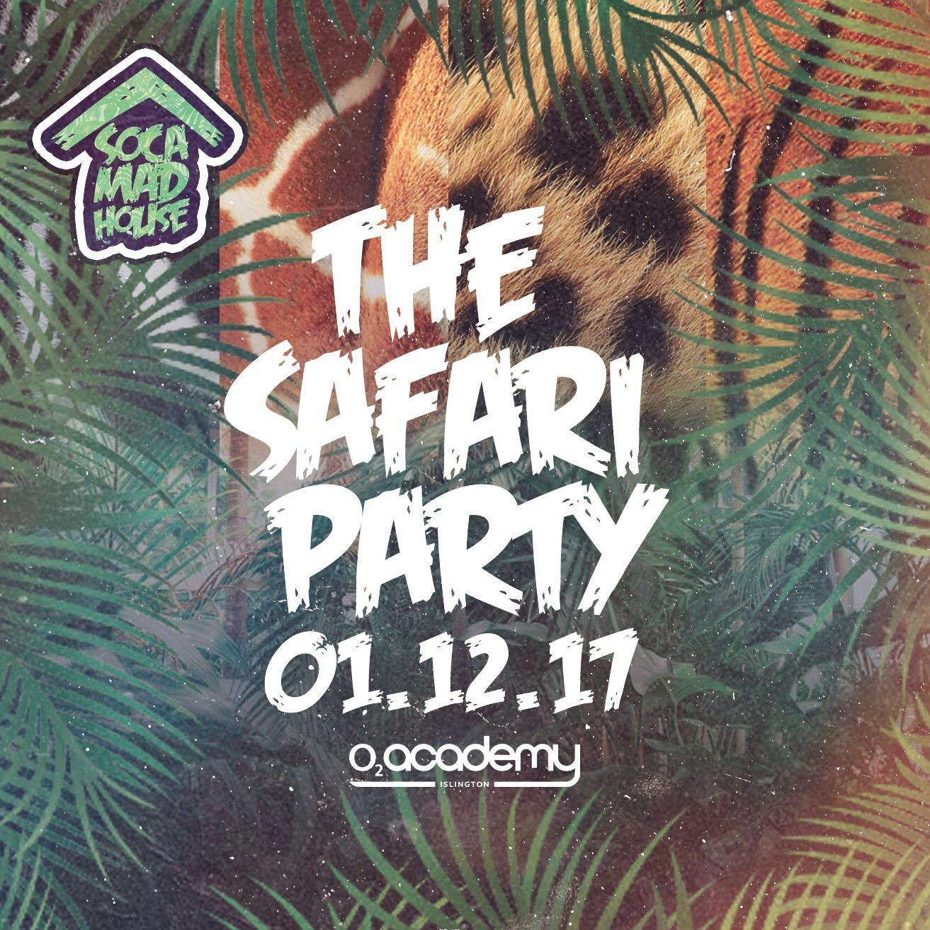 Soca Madhouse : The Safari Party | Blacknet UK
