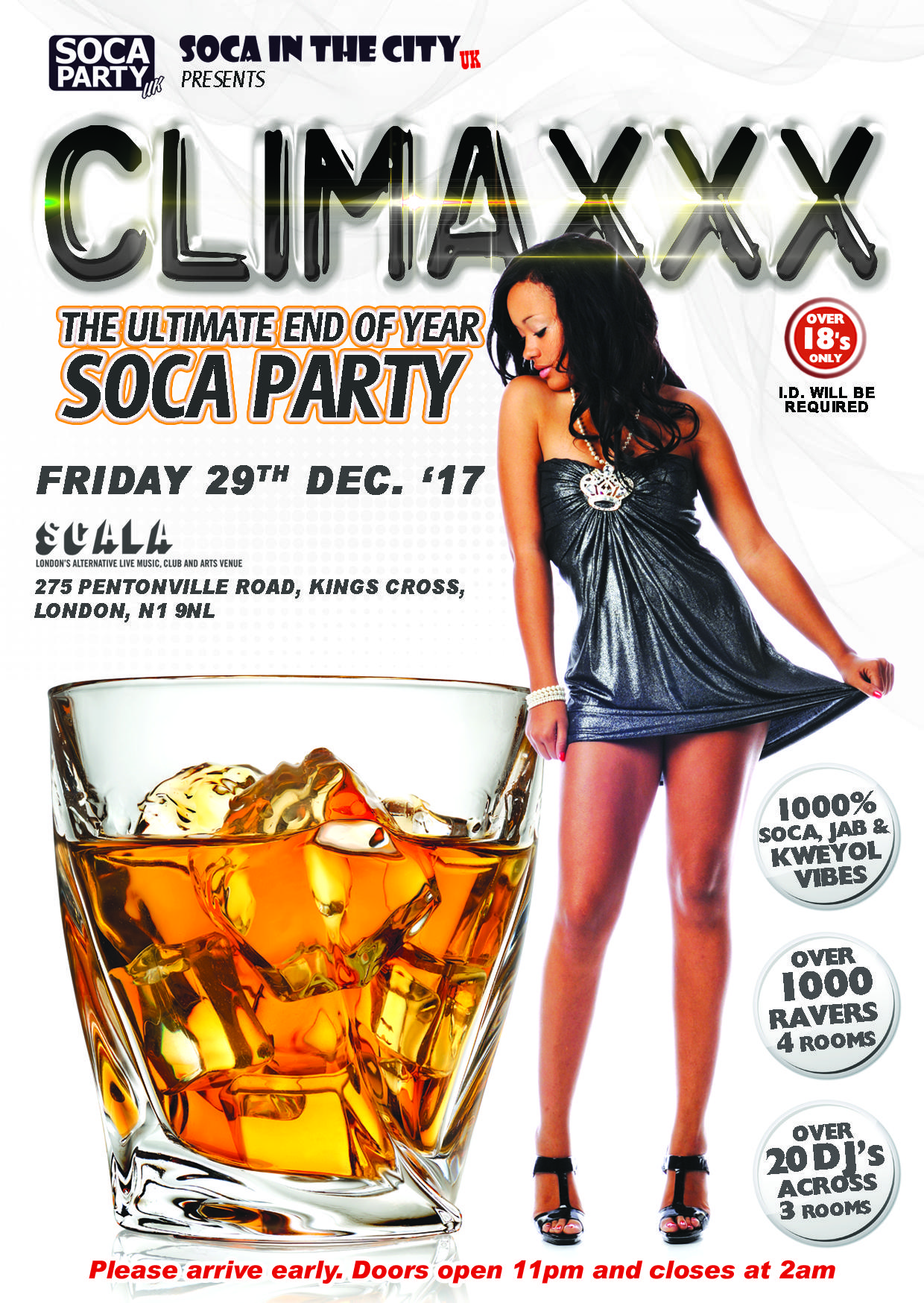 CLIMAXXX - The Ultimate End Of Year Sexy Soca Party | Blacknet UK