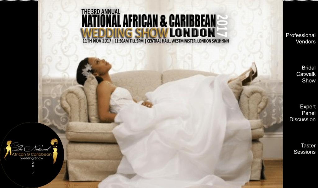 National African & Caribbean Weddings Show 2017 - (London)   Blacknet UK