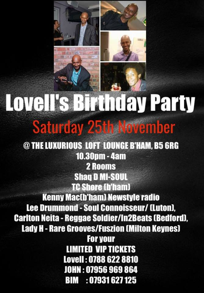 Baby Face Birthday party flyer