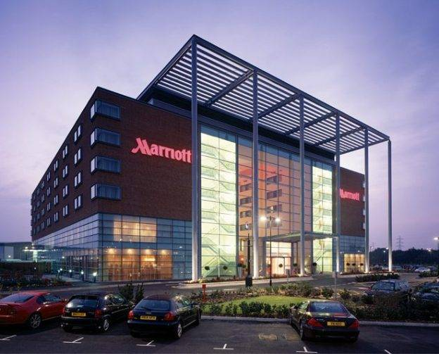 Leicester Marriot Hotel Front