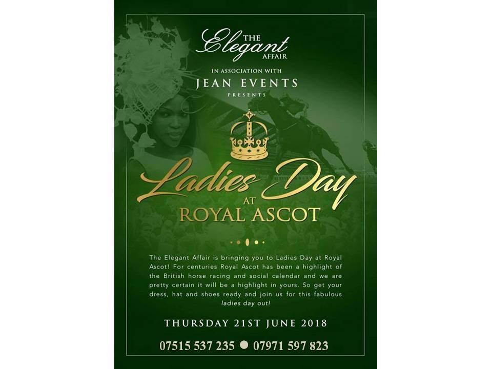 Royal Ascot Ladies Day 21st June 2018