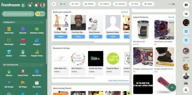 frontroom - the black social network