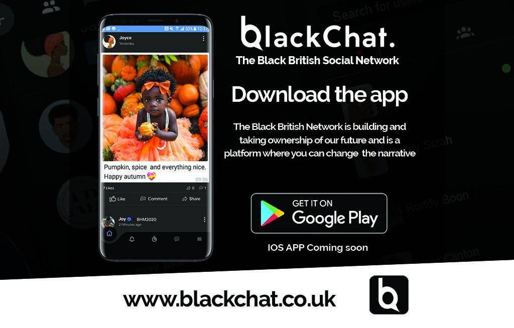 black-owned black british social media network platform android app